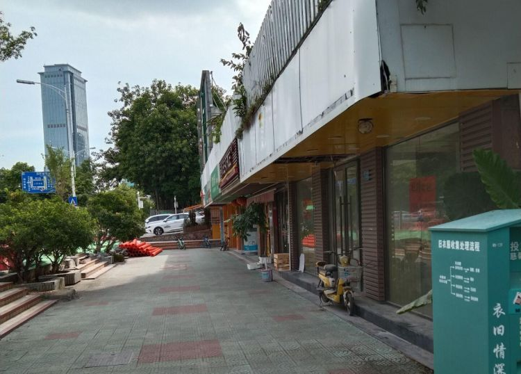 滨北市政府旁石亭小区沿街店面